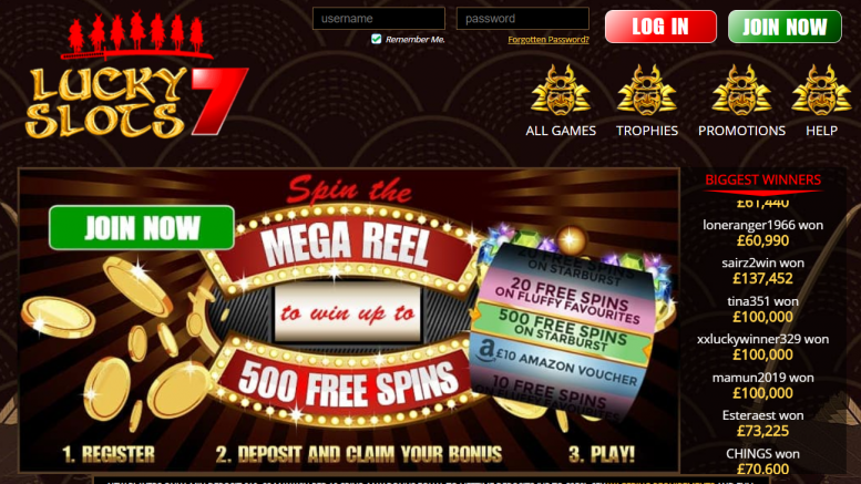 lucky slots 7